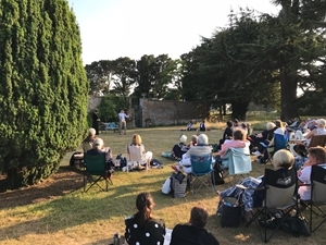 The garden at Glemham Hall has proved to be the perfect setting for Shakespeare over the past 20 years