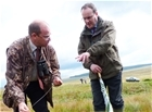 Minister views highs and lows of upland project