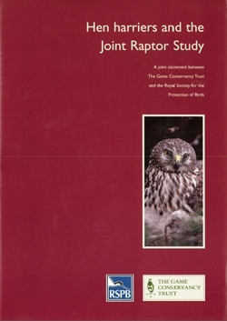 Hen Harriers and the Joint Raptor Study
