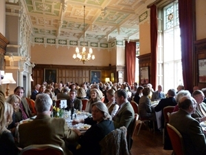 Over £15,000 was raised for the GWCT at the dinner and auction at Arley Hall in February