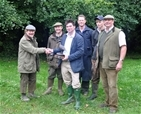 Team players strike a conservation success for grey partridge