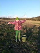 Farmland Bird Count is a hit with young and old alike