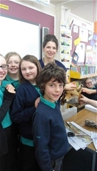 Golden time for Glenbervie pupils