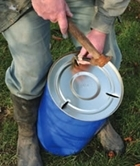 How to build a feeding hopper for gamebirds