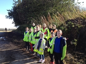 Pupils from Milton of Balgonie Primary School