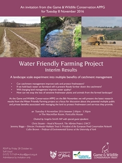 Water Friendly Farming – interim results and perspectives from the project