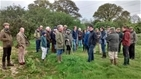 Scots' visit to GWCT's Rotherfield demonstration project and the Arundel Grey Partridge recovery project