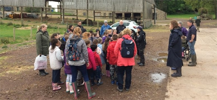 Local Primary Schools visit Whitburgh
