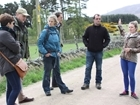 GWCT Fordingbridge staff visit Auchnerran demonstration farm