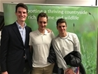 Three Olympic medallists inspire packed audience at GWCT event