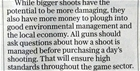 Pheasant shoot management: our letter in The Telegraph