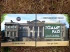 Fancy going to Game Fair 2018… for FREE?