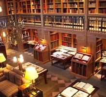 A Drinks Party & Tour of the Library at Wormsley image