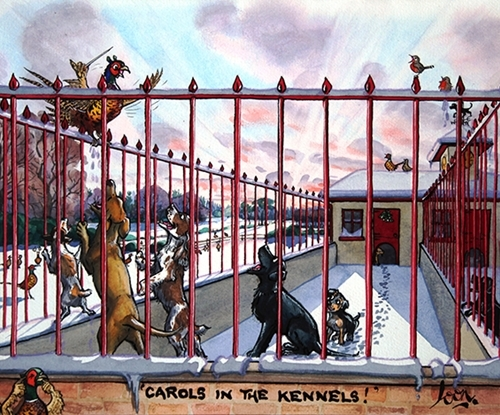 Carols In The Kennels ! By Loon
