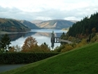 Car event at Lake Vyrnwy raising funds for GWCT